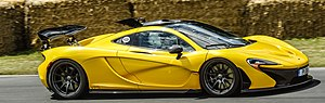 McLaren P1 - McLaren P1 at Goodwood Festival of Speed in 2014.