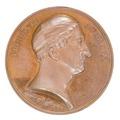 Medalj med läkare Per von Afzelius i kirurgkalott, 1835 - Skoklosters slott - 99301.tif
