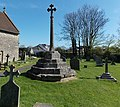 Medieval cross restored as a Great War Memorial, Kenn (geograph 3996069).jpg