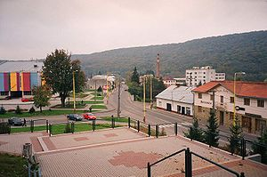 Medzilaborce - Medzilaborce main street