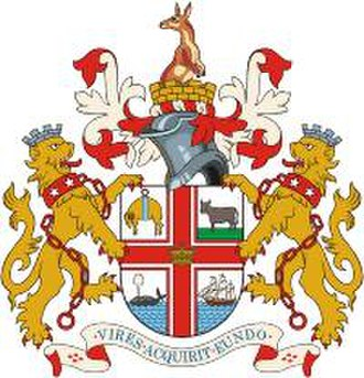 City of Melbourne - The Melbourne City coat of arms
