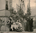Melchior family gathering with HCA at Rolighed 1867.jpg
