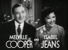 Melville Cooper and Isabel Jeans