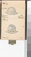 Memorandum Book Showing Colored Sketches Mostly of European Helmets MET DP164606.jpg