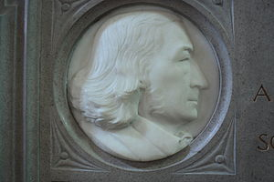 John Stuart Blackie - memorial to John Stuart Blackie in St Giles Cathedral, Edinburgh