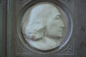 John Stuart Blackie - memorial to John Stuart Blackie in St Giles Cathedral, Edinburgh