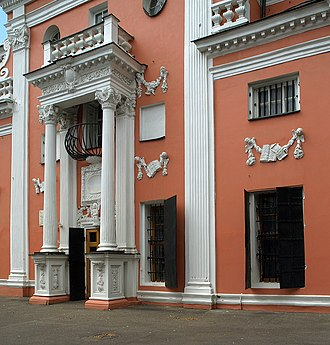 Menshikov Tower - South-western entrance
