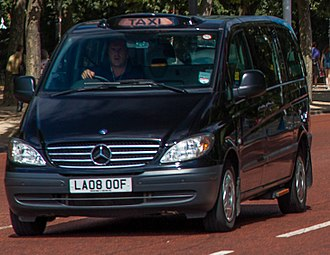 Mercedes-Benz Vito - Vito London Taxi