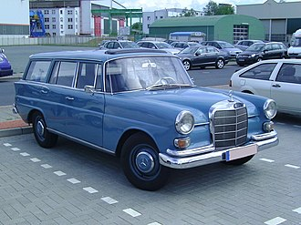Mercedes-Benz W110 - Mercedes-Benz W110 Kombi