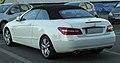 Mercedes E 350 CDI BlueEFFICIENCY Cabriolet (A207) rear 20100821.jpg