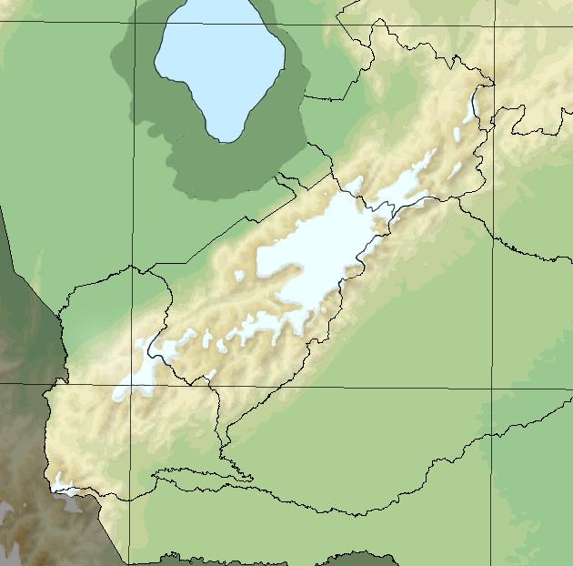 Merida Glaciation in Venezuelan Andes