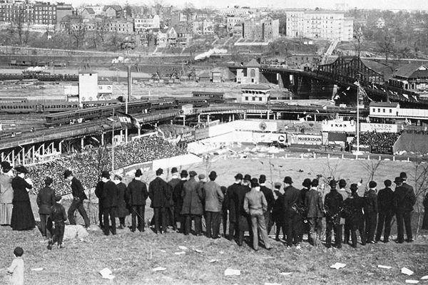 Merkles Boner game Polo Grounds Sept23 1908