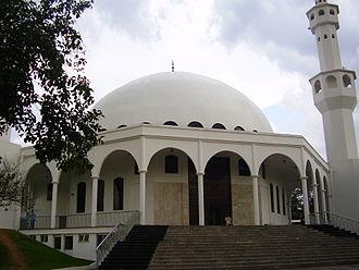 Islam in Brazil - Mosque in Foz do Iguaçu.