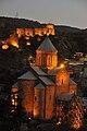 Metekhi Church and Narikala Fortress, Tbilisi.jpg