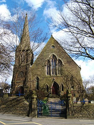 Edgworth - Image: Methodist Church at Edgworth, Lancashire