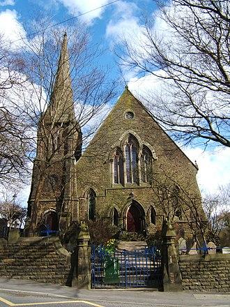 Edgworth - Image: Methodist Church at Edgworth, Lancashire