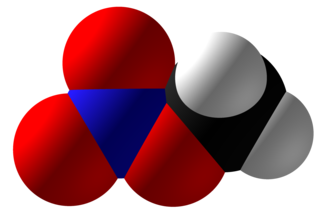 Methyl nitrate - Image: Methyl Nitrate Space Fill