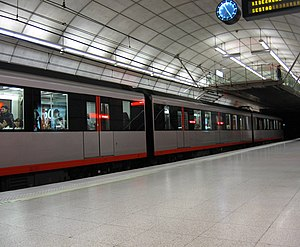 Rail transport in Spain - Bilbao metro.