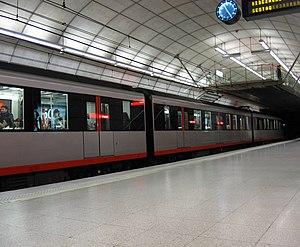 Bilbao metro.