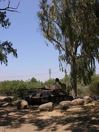Metula - Park near Nahal Ayyun