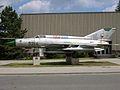 MiG-21MF 'Fishbed' preserved inside Čáslav.jpg
