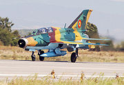 Romanian Air Force MiG-21 UM LanceR-B