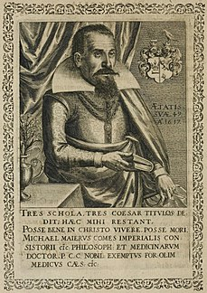 Michael Maier German physician and alchemist