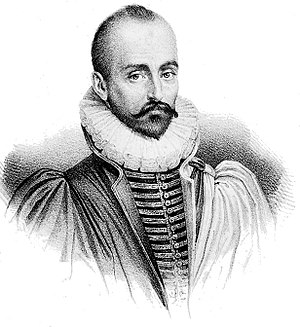 Michel de Montaigne cover