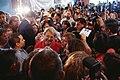 Michelle Bachelet participa en un encuentro con dirigentes sociales y vecinales de Puente Alto. (8658477308).jpg