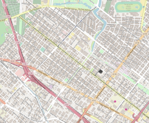 Mid-City New Orleans - Image: Mid City Map from Open Street Map