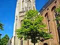 Middelburg - Onder den toren - View West on Abdijtoren 'Lange Jan' (90.5 m).jpg