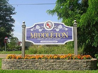 Middleton, Nova Scotia - Image: Middleton NS sign