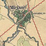 Miejsce Piastowe bei Sanok Franzisco-Josephinische Landesaufnahme (1806-1869).jpg