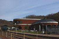 Mikasa railroad memorial hall.JPG