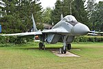 Mikoyan-Gurevich MiG-29 (9.13) '04 blue' (36889851043).jpg