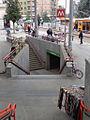 Milano piazza Bottini nuovo ingresso M2.JPG
