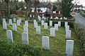 Military graves, St Deiniol's graveyard - geograph.org.uk - 1207988.jpg