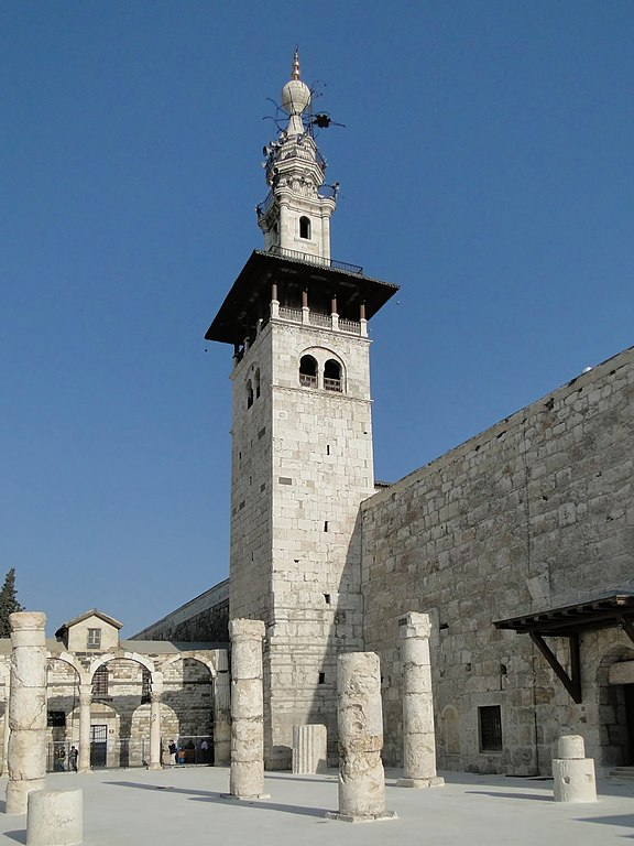 File:Minaret of the Bride, Umayyad Mosque 01.jpg ...