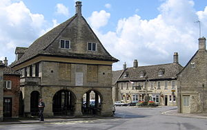 Minchinhampton - Image: Minch market square