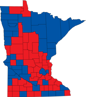 United States Senate election in Minnesota, 2000 - Image: Minnesota Senate 2000