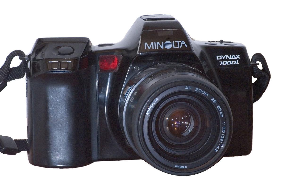 minolta 7000i wikipedia - Minolta Digital Camera