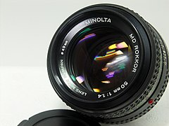 Minolta MD Rokkor 50mm f1.4 -2 (3725885697).jpg