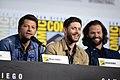 Misha Collins, Jensen Ackles & Jared Padalecki (48478086936).jpg