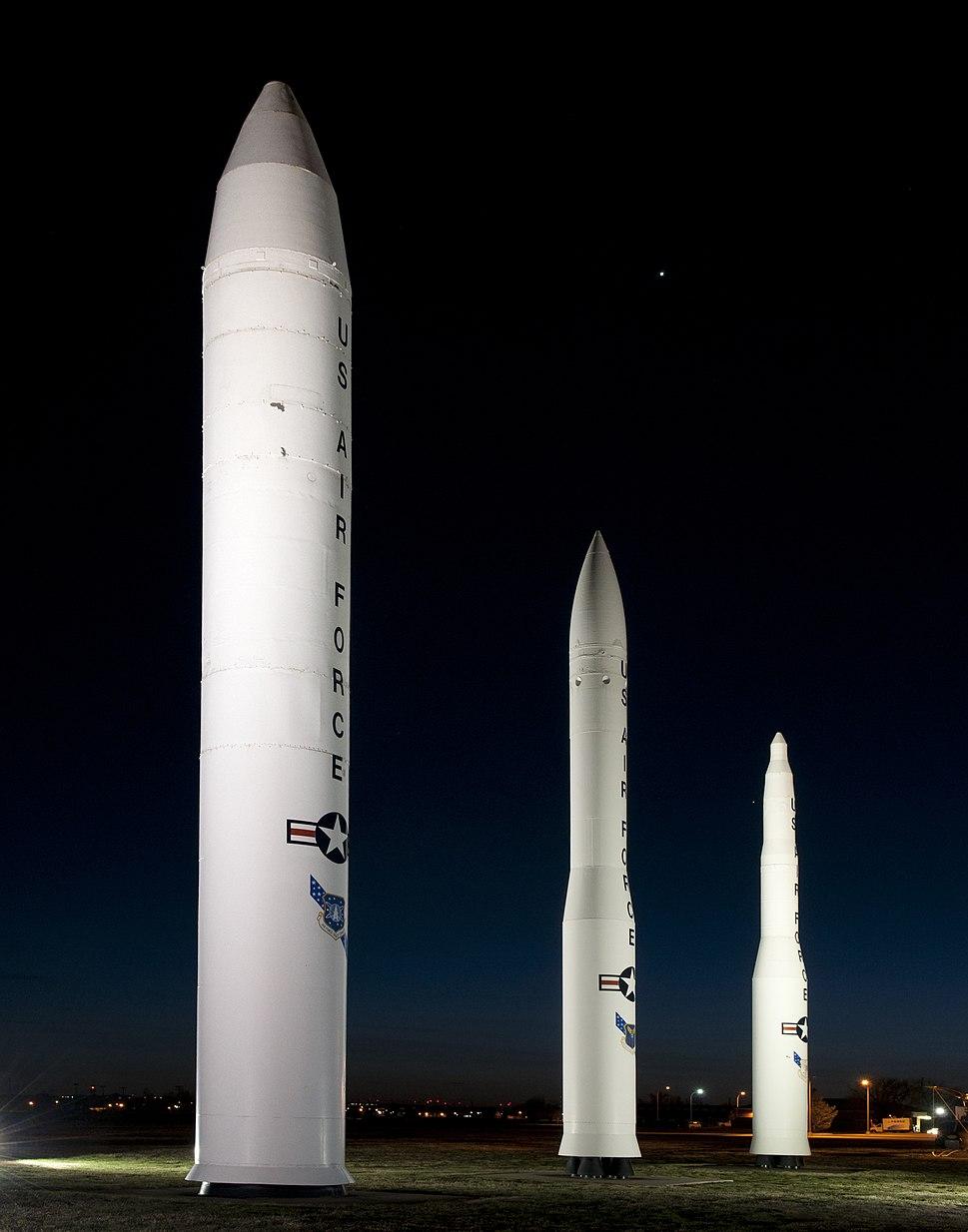 Missile display at F.E. Warren AFB 120407-F-JW079-036