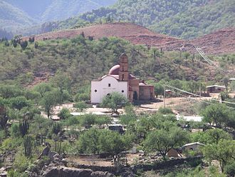 "Batopilas, Chihuahua - The Satevó Mission near Batopilas, often called the ""Lost Mission"" (2005)"