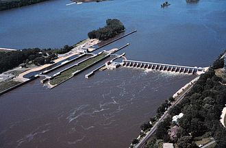 Lock and Dam No. 2 - Mississippi River Lock and Dam No. 2