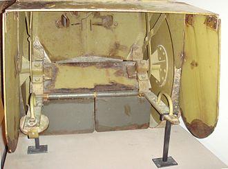 Mobile personnel shield - Mobile personnel shield (interior).