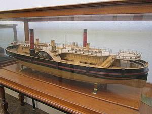 Model of Mersey Ferry 'Claughton', Williamson Art Gallery.jpg