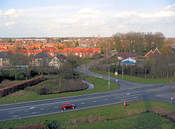 Winterswijk seen from Venemansmolen windmill