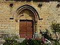Molières (24) église portail sud.JPG